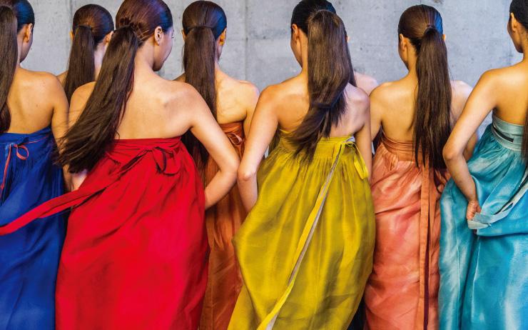 2008년 사진작가 김중만이 촬영한 〈바람의 옷〉.