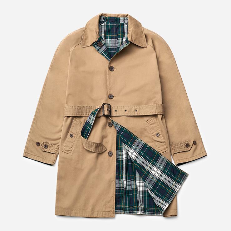 양면으로 입을 수 있는 싱글브레스트 트렌치코트 69만9000원 폴로 랄프 로렌.