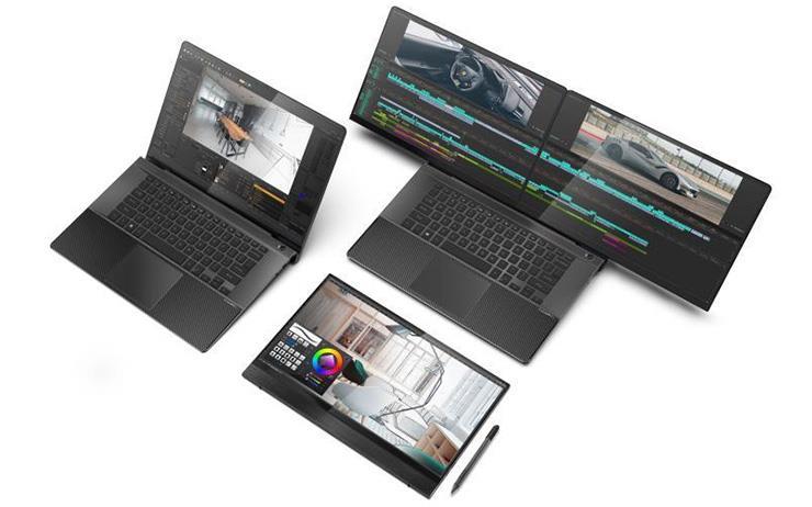 대만의 노트북 회사 컴팔이 듀얼 노트북을 출시했습니다.