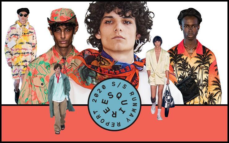 2020년 봄과 여름, 우리를 위한 패션 사용 설명서.