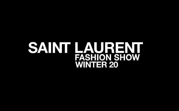 지금 생 로랑 20 WINTER 패션쇼를 라이브로 만나보세요