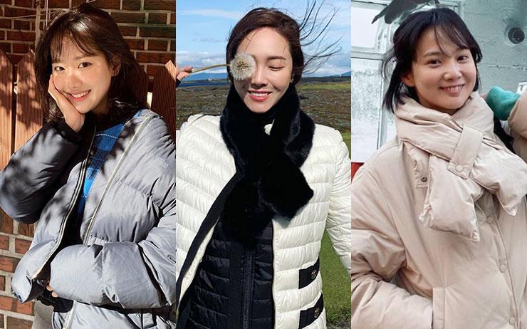 올겨울은 롱패딩 대신 숏패딩의 시대? 사복 패션으로 유명한 스타들이 선택한 숏패딩은 바로 '이것'!