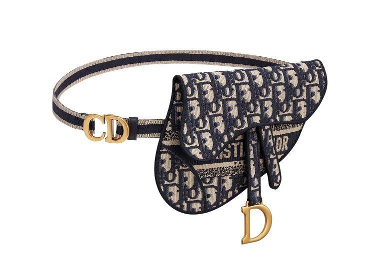오리지널 디올 오블리크 자수 캔버스 클러치 백, Dior
