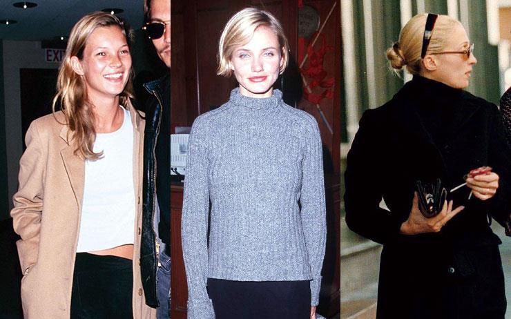 올가을에도 여전히 유효한 뉴트로 트렌드! 데일리 룩으로 참고하기 딱 좋은 90년대 패션 아이콘 7인의 스타일을 모아봤어요.