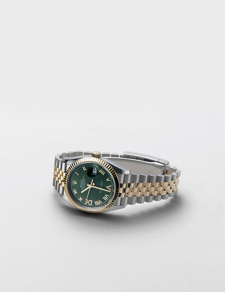 오이스터 데이트저스트 36은 가격 미정, Rolex.