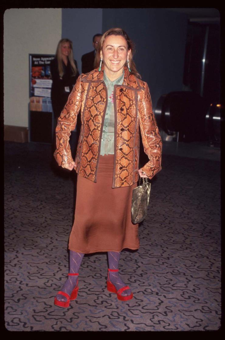 1996년 10월 24일, 뉴욕에서 열린 VH-1 패션 어워즈 시상식에서.