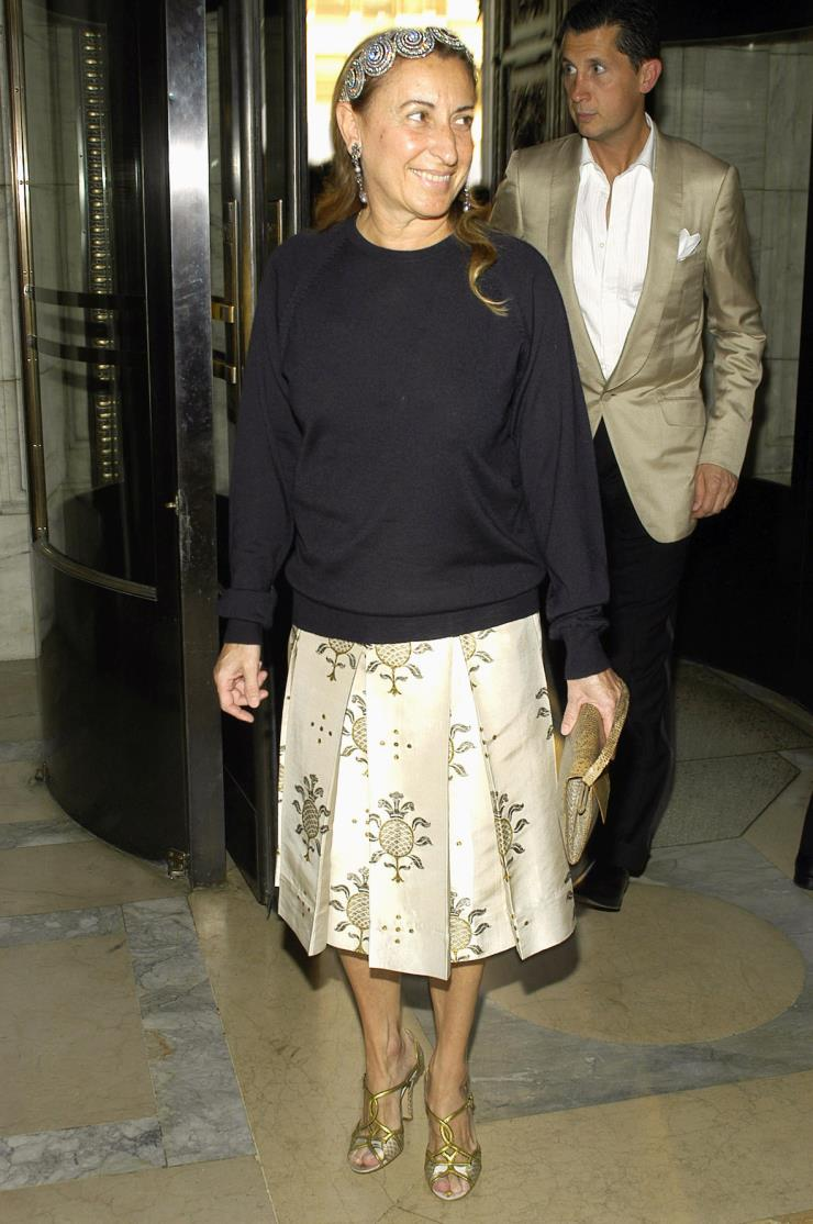 2004년 6월 7일, 뉴욕에서 열린 CFDA 패션 어워즈에서.