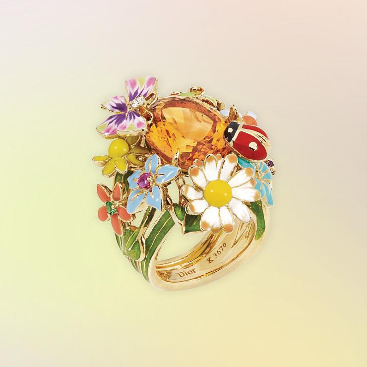 '디올레트'반지는 가격 미정 Dior Fine Jewelry.