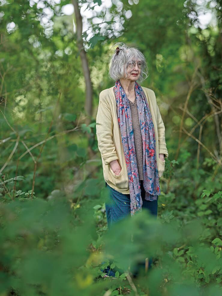 영국 켄트에 있는 그녀의 오래된 시골집 근처에서 로즈 와일리. (Photo : Kwon Soon-Hak)