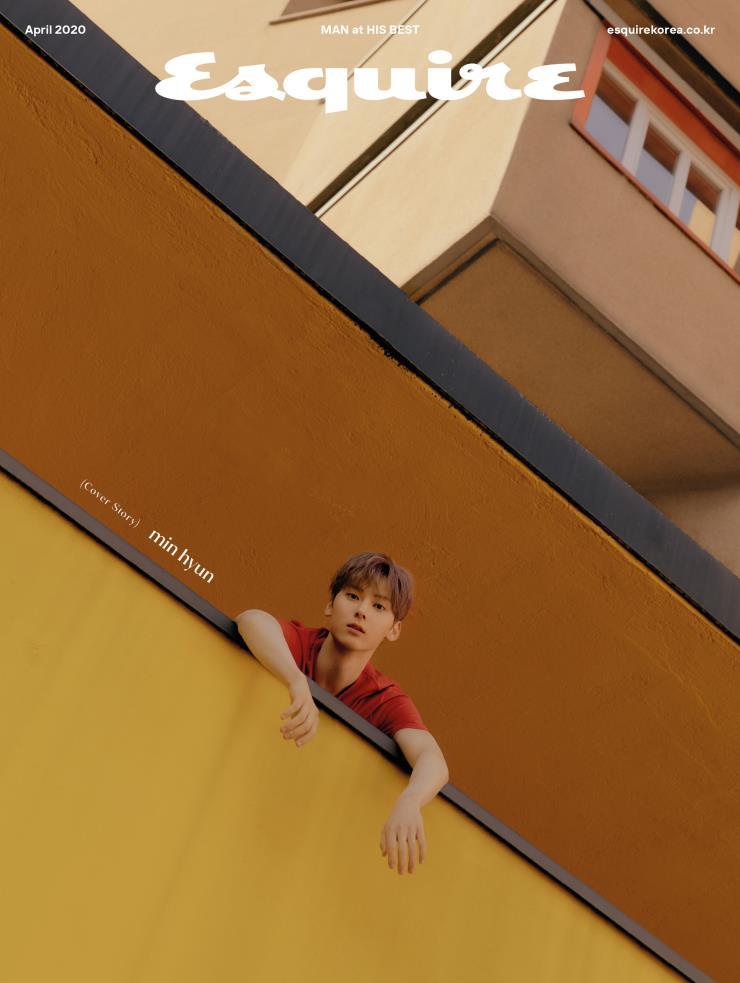 〈에스콰이어〉 4월호 표지모델 민현
