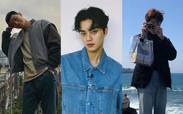 박서준, 송강, 로운, 이재욱, 배인혁, 이종원까지 봄 나들이할 때 입고 갈 옷을 찾는다면 일단 이들의 인스타그램을 참고하자.