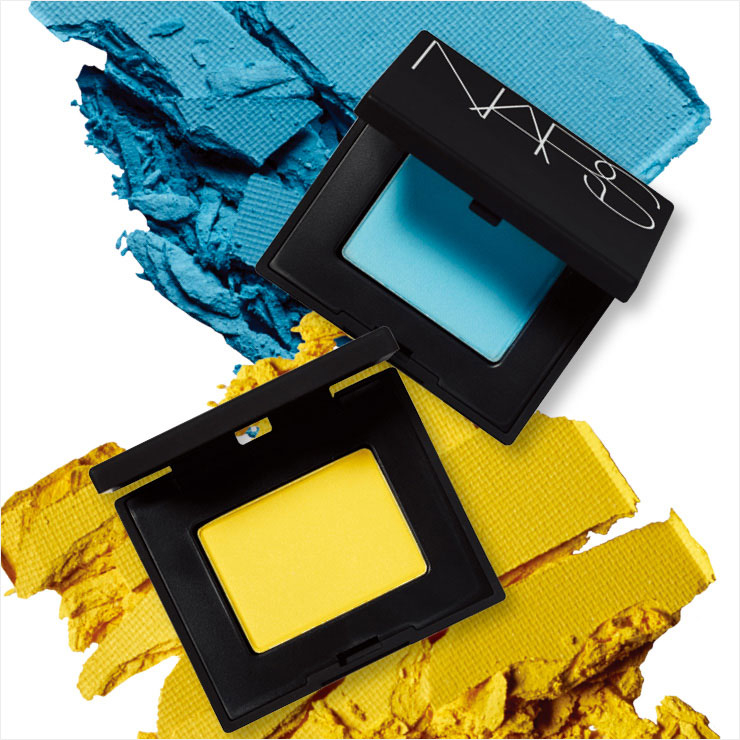 Single eye shadow with vivid color that fits close to the eyes, Baby Jane, Douro, 30,000 won each, all Nars.