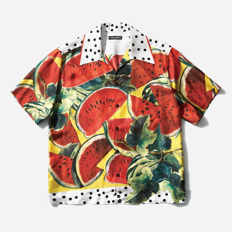 수박 프린팅 셔츠 가격 미정 돌체&가바나.