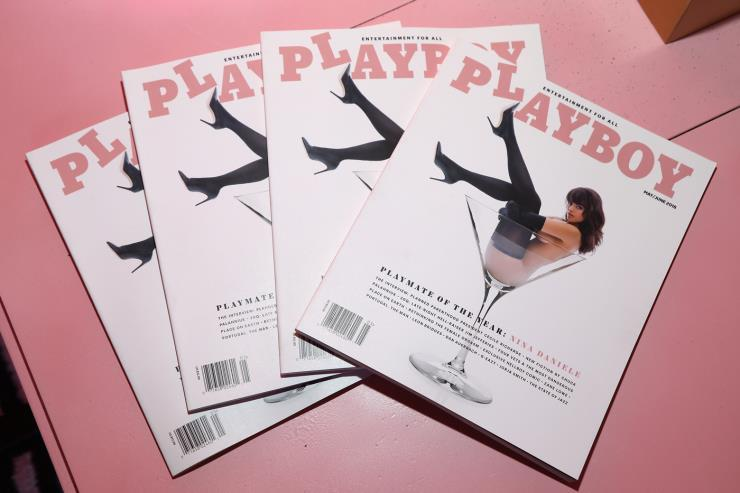 〈Playboy〉, 출처: Jerritt Clark/Getty Images