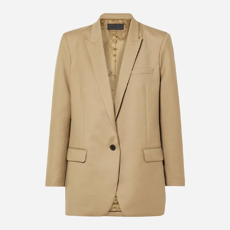 재킷 1백30만원대 닐리 로탄 by 네타포르테. → 스리피스 슈트와 함께 젠틀우먼이 돼보자.
