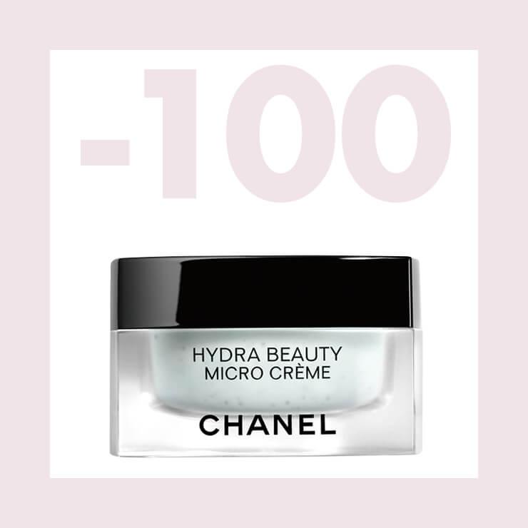 강한 보습력을 지닌 이드라 뷰티 마이크로 크림. 크림 속 알갱이에 담긴 마이크로캡슐 속 활성 성분이 피부를 촉촉하고 탄력 있게 가꿔준다. 50g 12만원, Chanel.