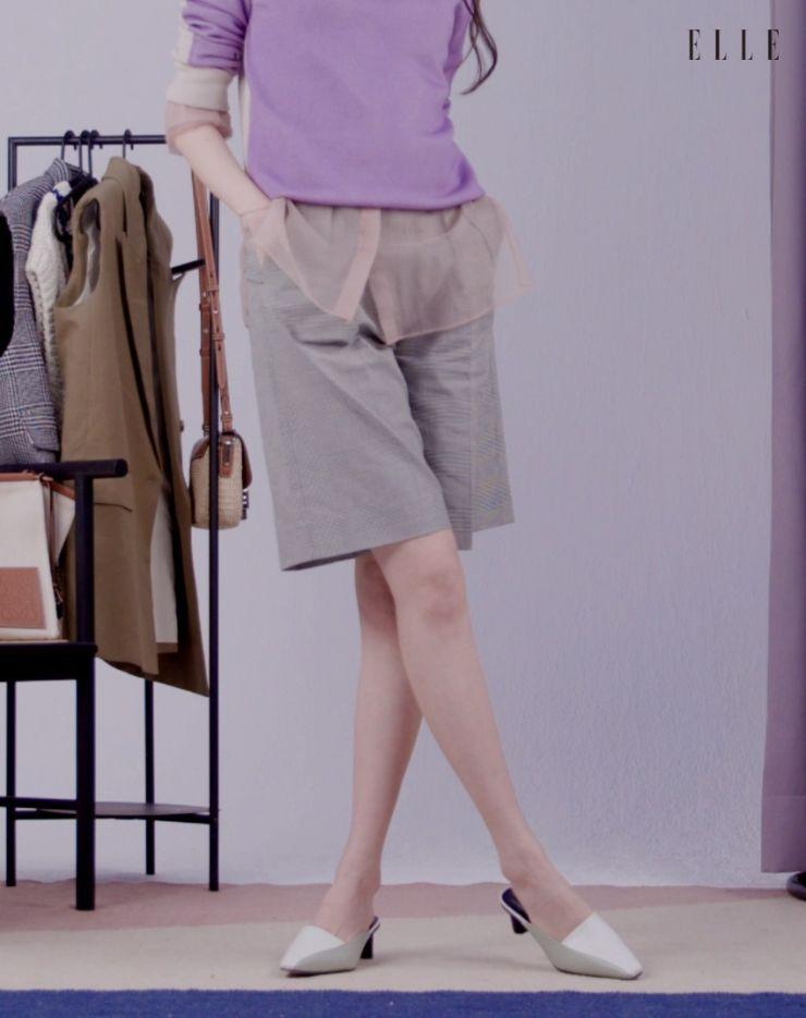투톤 뮬은 Rachel Cox.