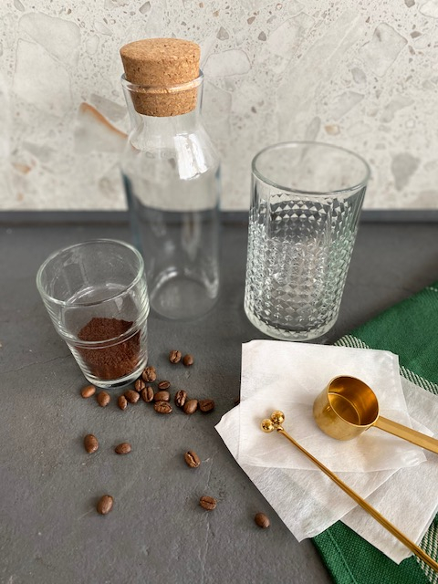 콜드 브루 커피 재료