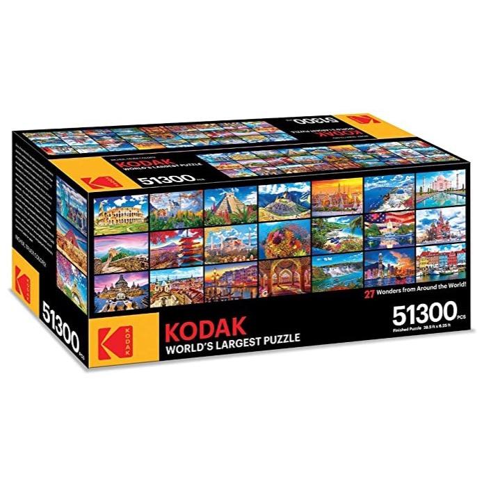 KODAK, 27 Landmark Jigsaw Puzzles