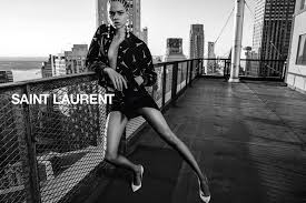 Anthony Vaccarello by Saint Laurent (2018 S/S)