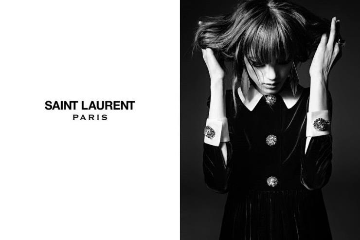 Hedi Slimane by Saint Laurent (2014 F/W)