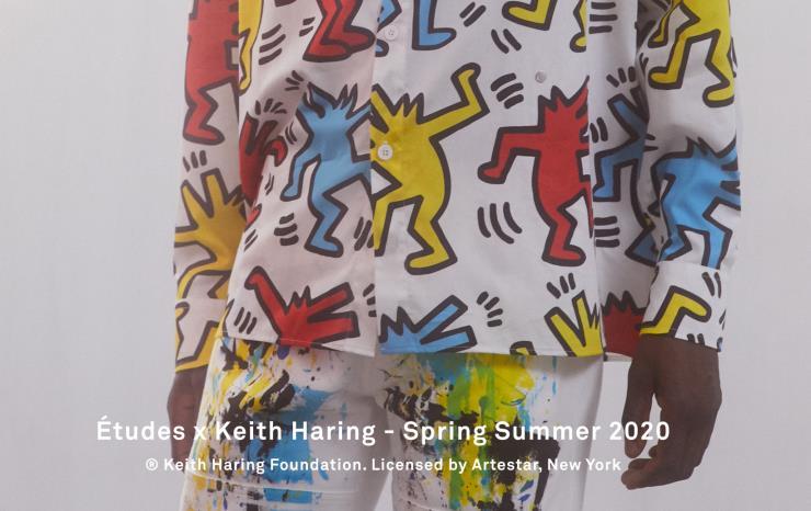 키스해링 X 에튀드 2020 S/S 컬렉션 에튀드(Études)와 키스해링(Keith Haring)이 협업한 재킷, 셔츠, 후디 등을 출시했다.