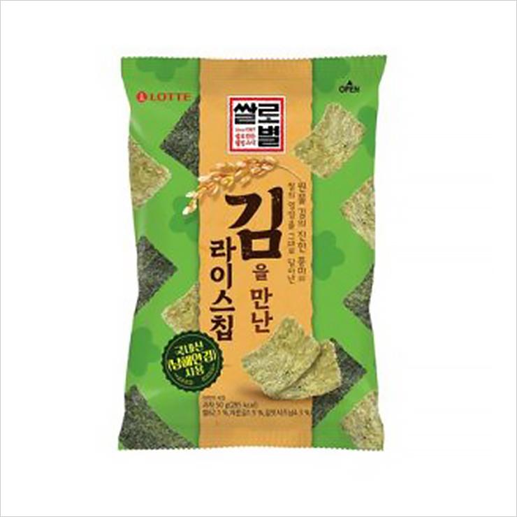 쌀로별 김을 만난 라이스칩