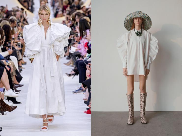 L: Valentino R: Zara