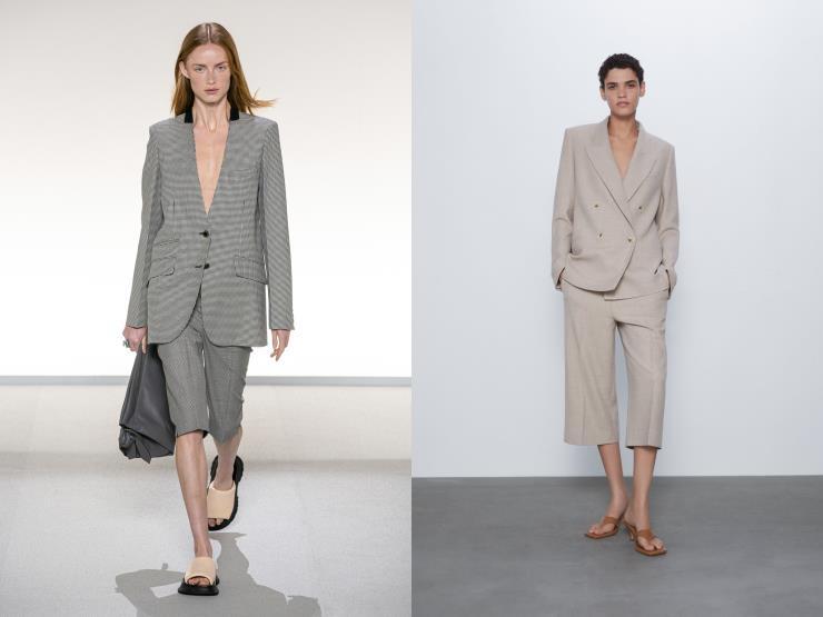 L: Givenchy R: Zara