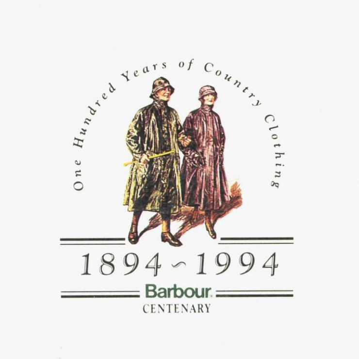 바버 창립 100주년 기념 포스터 @바버 공식 홈페이지