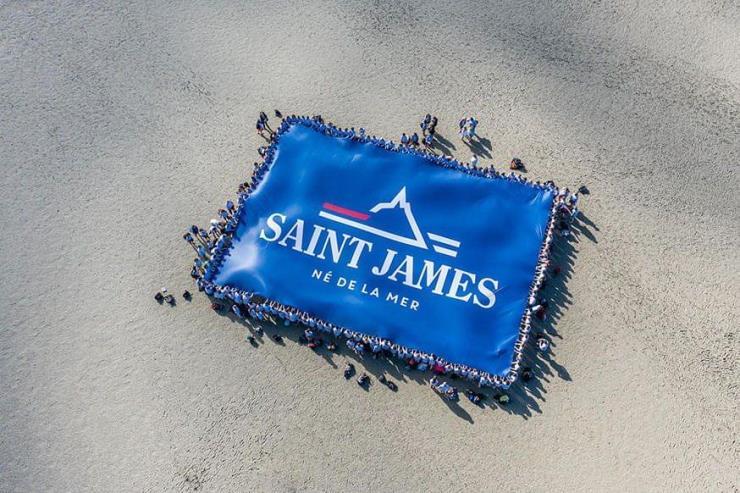 Ⓒ세인트제임스 홈페이지(www.saint-james.com/fr)