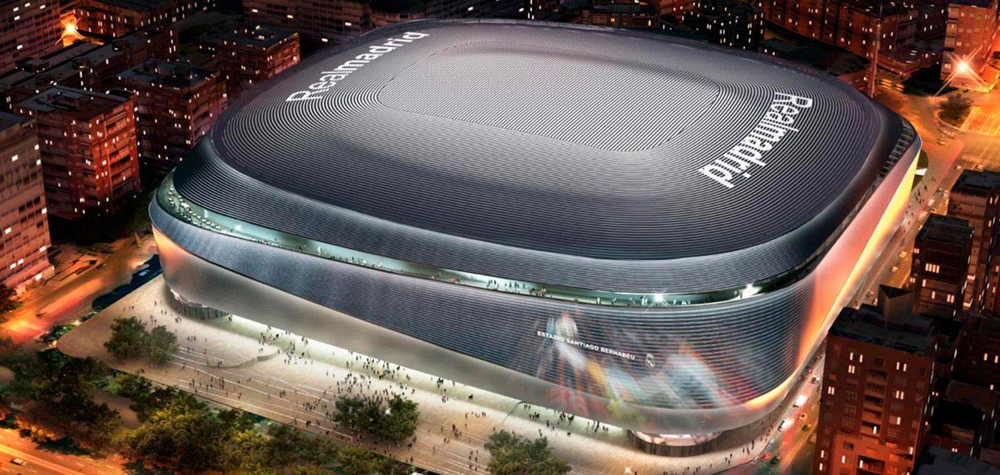 Real Madrid Santiago Bernabeu New Stadium