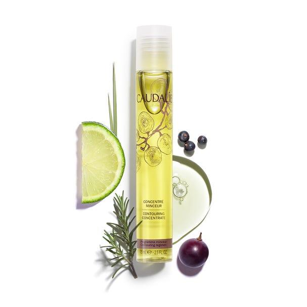 포도 씨 오일과 레몬그라스 에센셜 오일이 주성분인 향이 신선한 드라이 오일, 컨투어링 컨센트레이트, 75ml, 3만9천원, 꼬달리