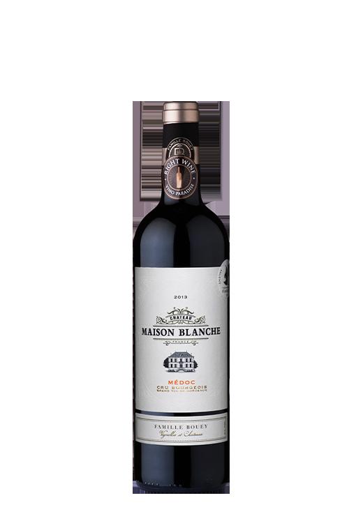 프랑스 메독 지방의 메를로 베이스 레드 와인, 샤토 메종 블랑쉬 메독, 가격미정, 비노 파라다이스