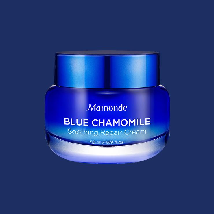 Mamonde 블루 캐모마일 수딩 리페어 크림 3만2천원