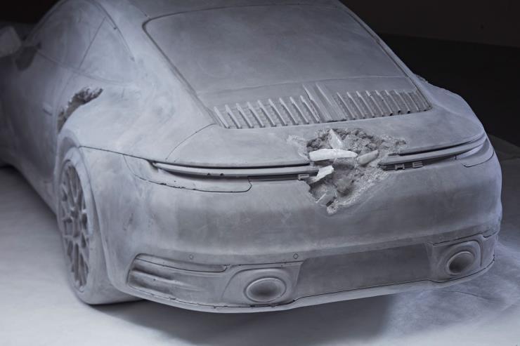Daniel Arsham_Porsche 911