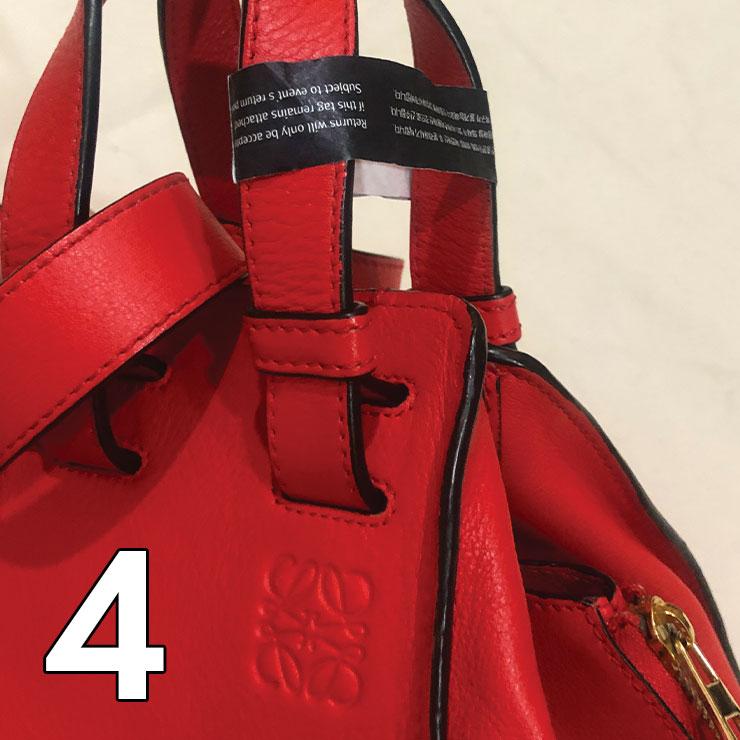 리본즈 렌트잇의 의류와 가방은 착용 전 태그를 제거해야 한다.
