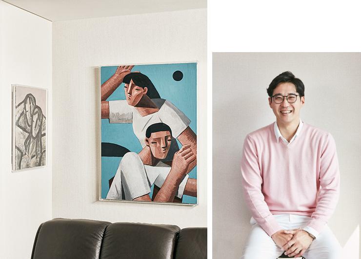 (왼쪽) ⓒ김희수, 〈Untitled〉, 2020.
