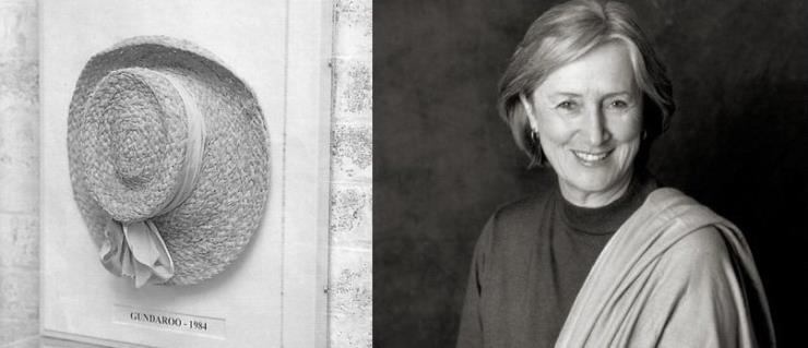(왼쪽) 헬렌카민스키 최초의 모자 'Classic 5'. (오른쪽) 헬렌 마리 카민스키.  Ⓒ 헬렌카민스키 제공