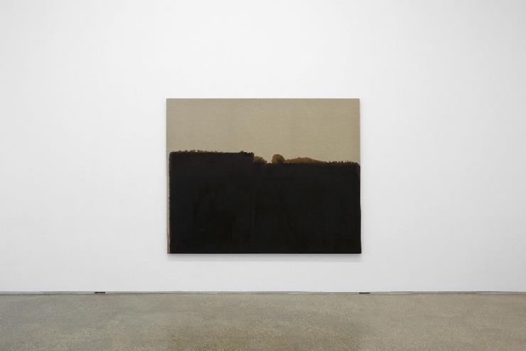 Installation view of 〈Yun Hyong-keun 1989-1999〉 at PKM & PKM+. Courtesy of PKM Gallery