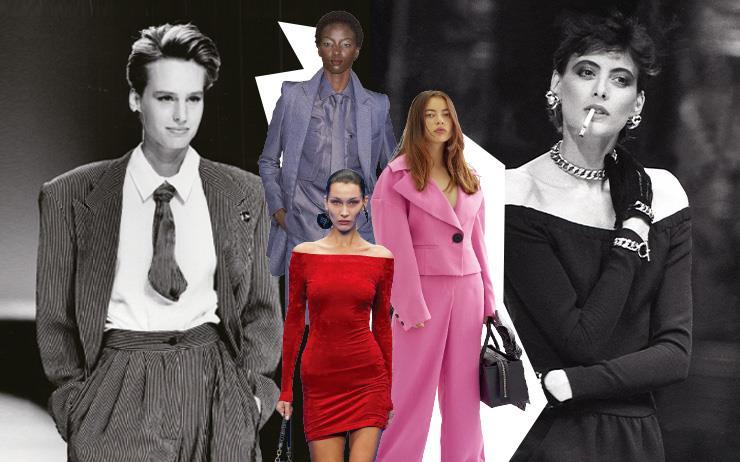 해묵은 스트리트 패션에 지친 이들이여, 호화로운 여피의 세계로 들어오라.