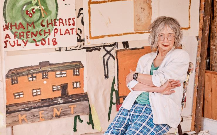 로즈 와일리는 76세에 '영국의 가장 핫한 신진 아티스트'로 선정되었다. 그의 작품은 결코 늦은 건 아무것도 없다는 걸 뚜렷하게 증명한다.