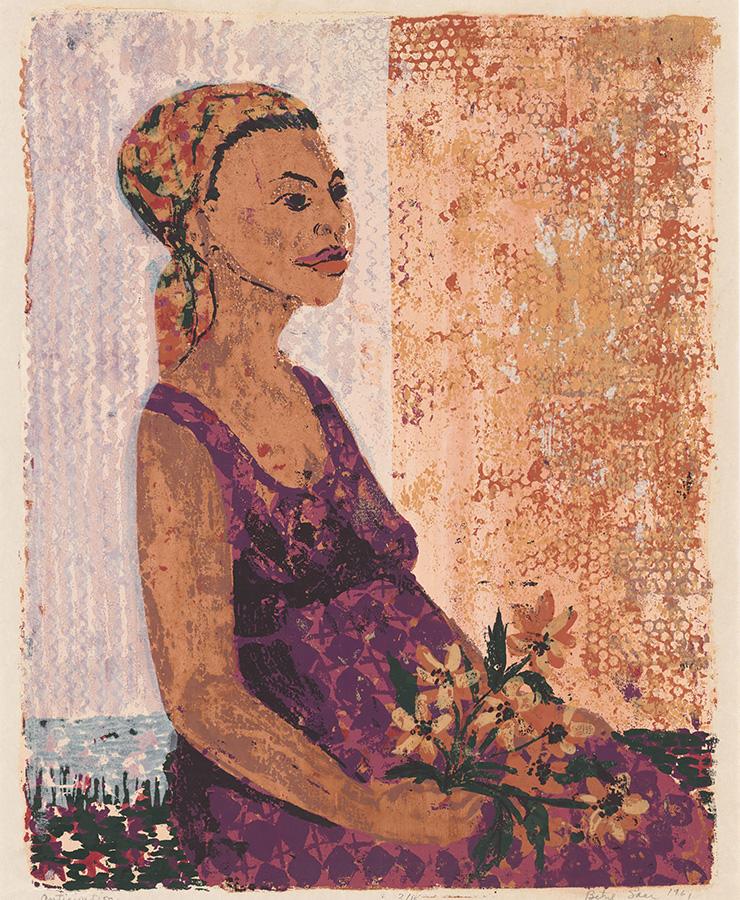 베티 사르, 〈Anticipation〉, 1961.