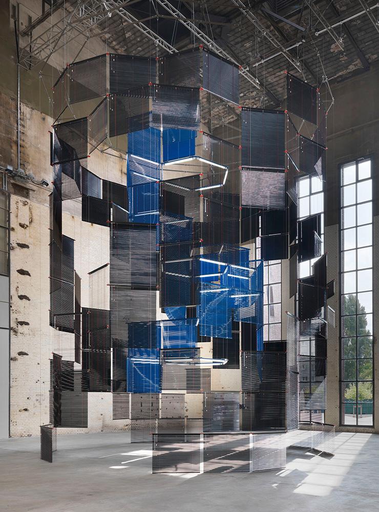 양혜규, 〈침묵의 저장고 ? 클릭된 속심〉, 2017, 킨들 현대미술센터, 베를린, 독일, 2017. Photo: Jens Ziehe