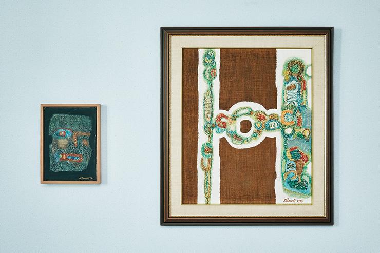 박길웅, 〈무제〉, 1974. 〈무제〉, 1976.