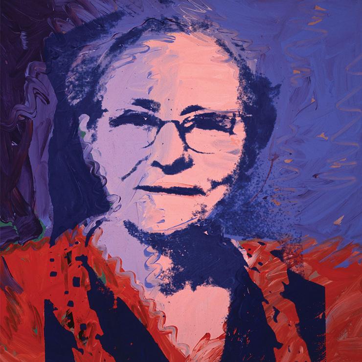앤디 워홀, 〈Julia Warhola〉, 1974.