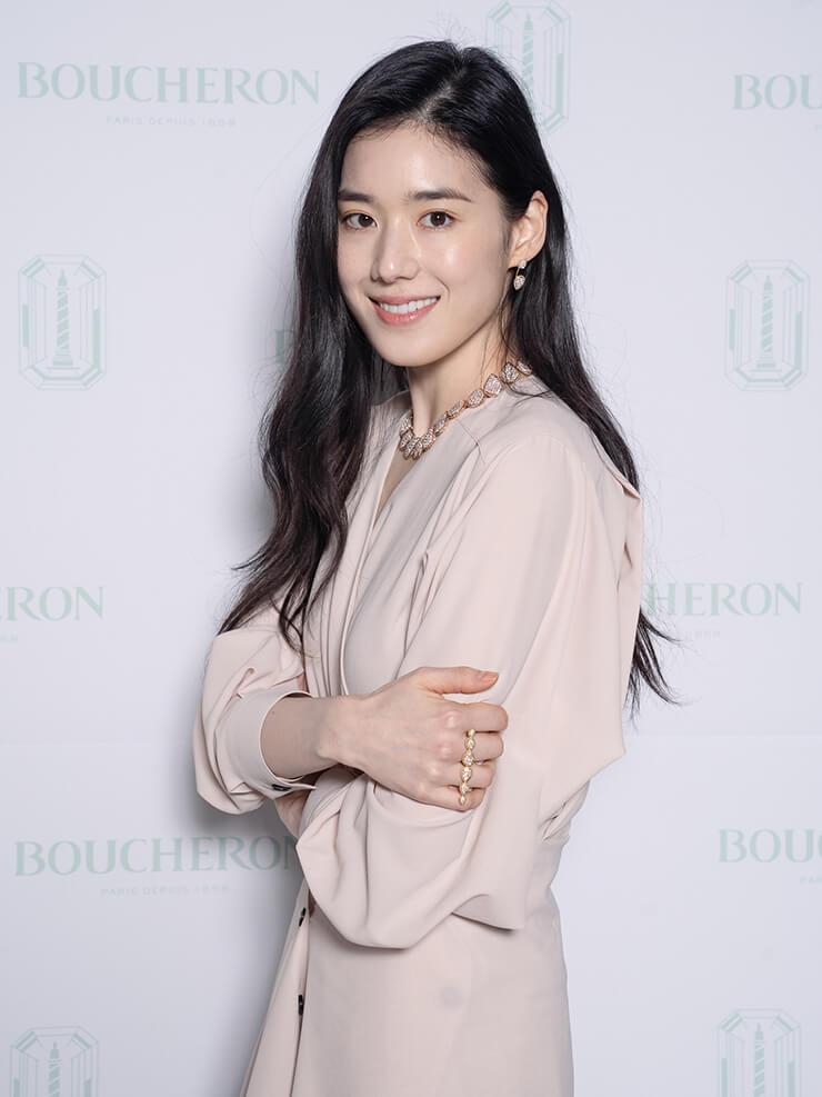 부쉐론 앰버서더인 배우 정은채.