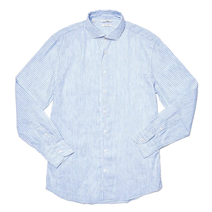 스트라이프 리넨 셔츠 15만9000원 수트서플라이.
