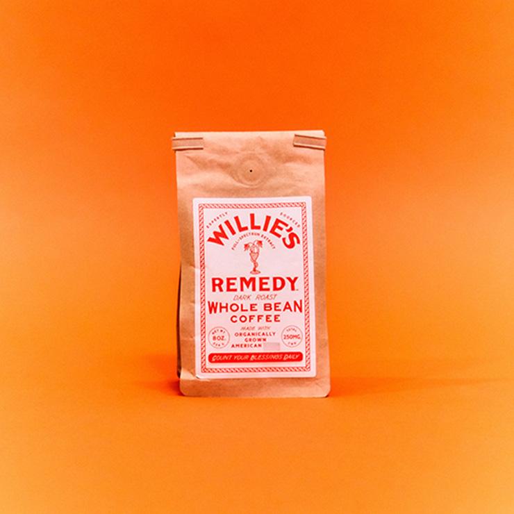 가수 윌리 넬슨이 만든 커피 원두.