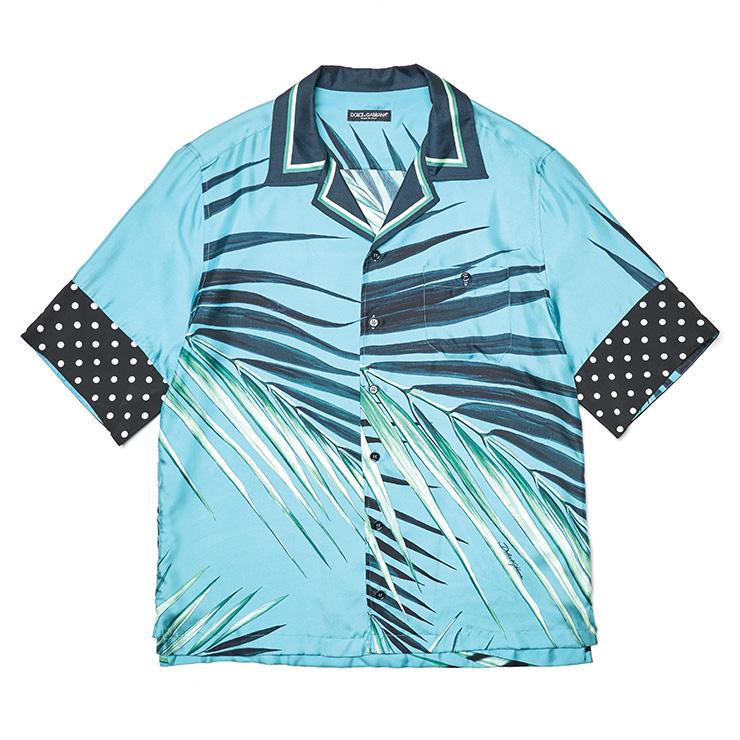 야자수 패턴 하와이안 셔츠 가격 미정 돌체&가바나.
